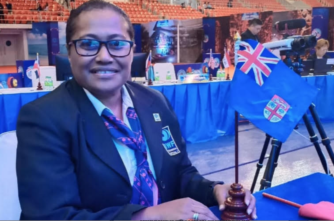 """""""In line with the OWF Constitution, we once again advise you to include the elections of office bearers in the agenda, as provided in the formal notice for the Extraordinary Congress"""", wrote Della Shaw-Elder earlier this week ©Weightlifting Fiji"""