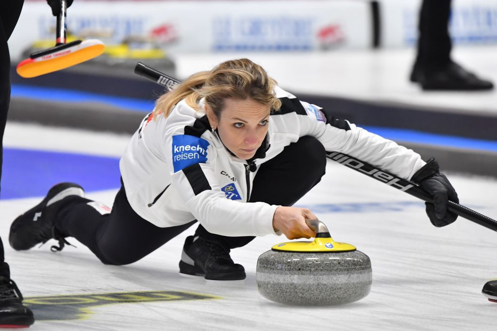 Defending champions Switzerland suffer first defeat at World Women's Curling Championship