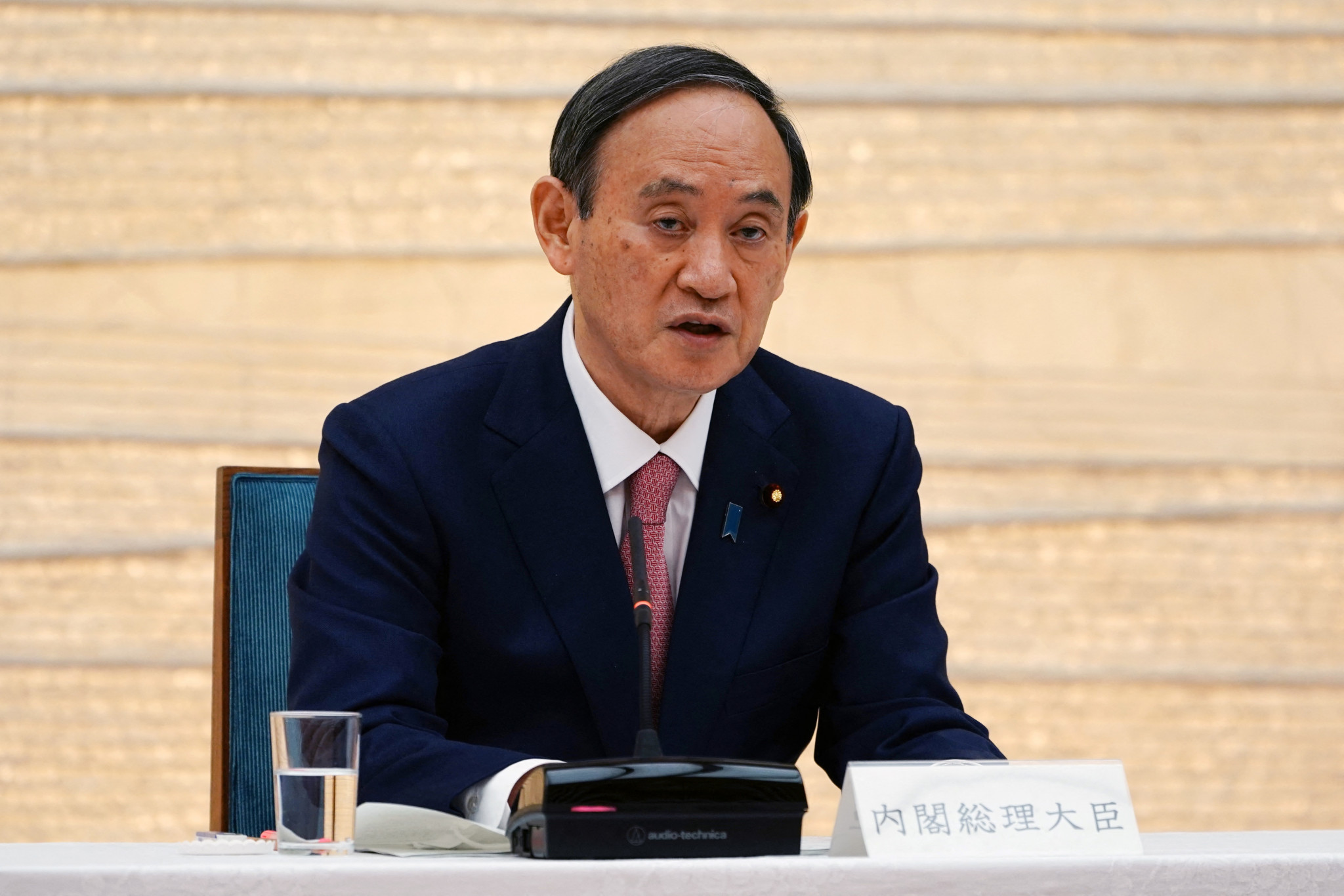 Japanese Prime Minister Yoshihide Suga is reportedly considering extending the state of emergency in Tokyo ©Getty Images