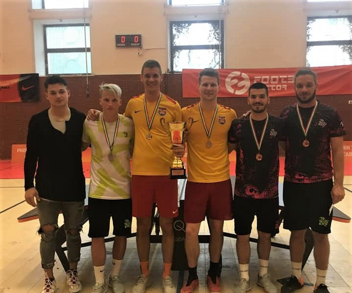 Hungary's teqball world champions win Budapest Challenger