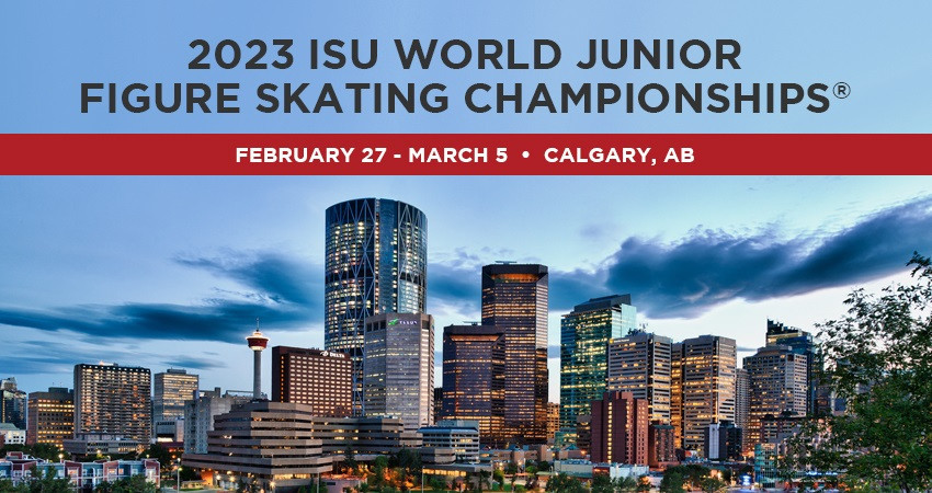 Calgary chosen to stage 2023 World Junior Figure Skating Championships