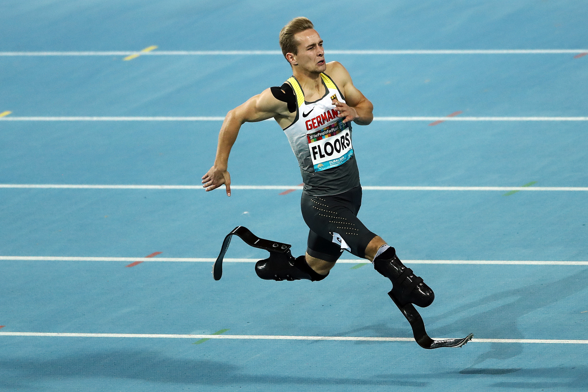 German Para-athlete Johannes Floors features as part of the DOSB and DBS My Way campaign ©Getty Images