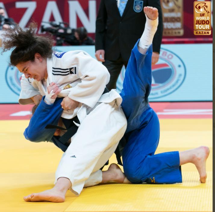Taimazova in golden form at IJF Kazan Grand Slam
