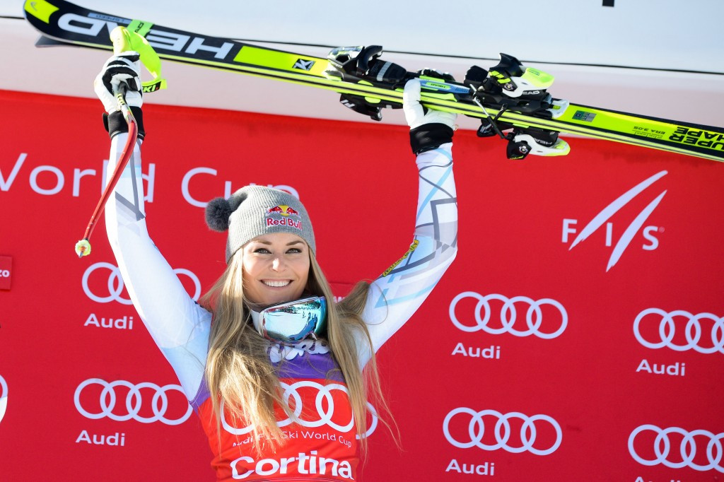 American World Cup record-breaking skier Lindsey Vonn is also an athlete ambassador for the second edition of the Winter Youth Olympic Games
