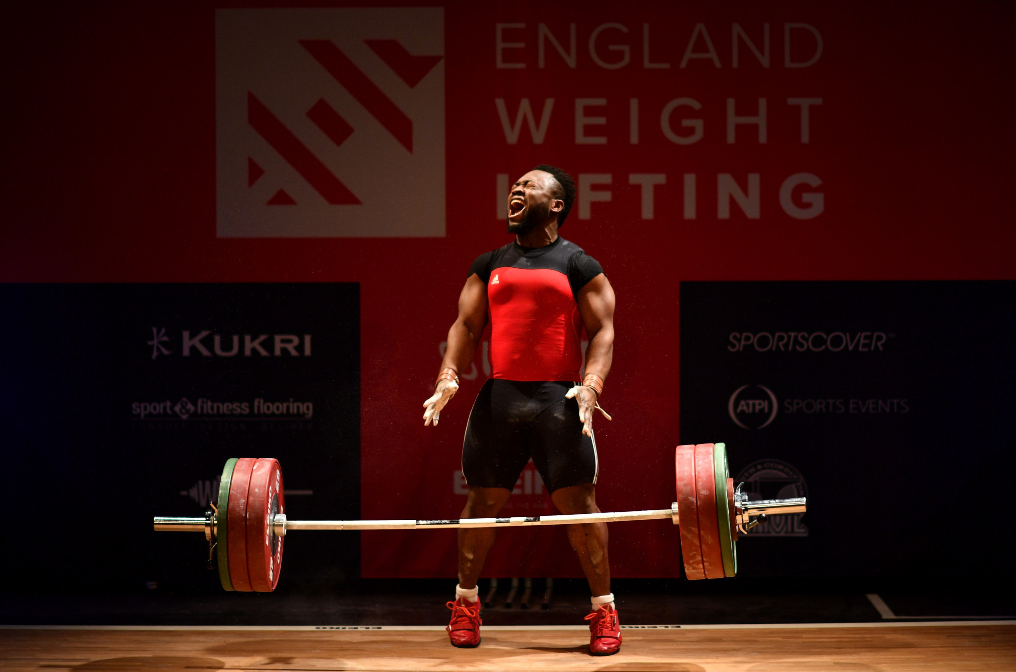 Vice-chair of the IWF Athletes Commission Forrester Osei said he was trying to get