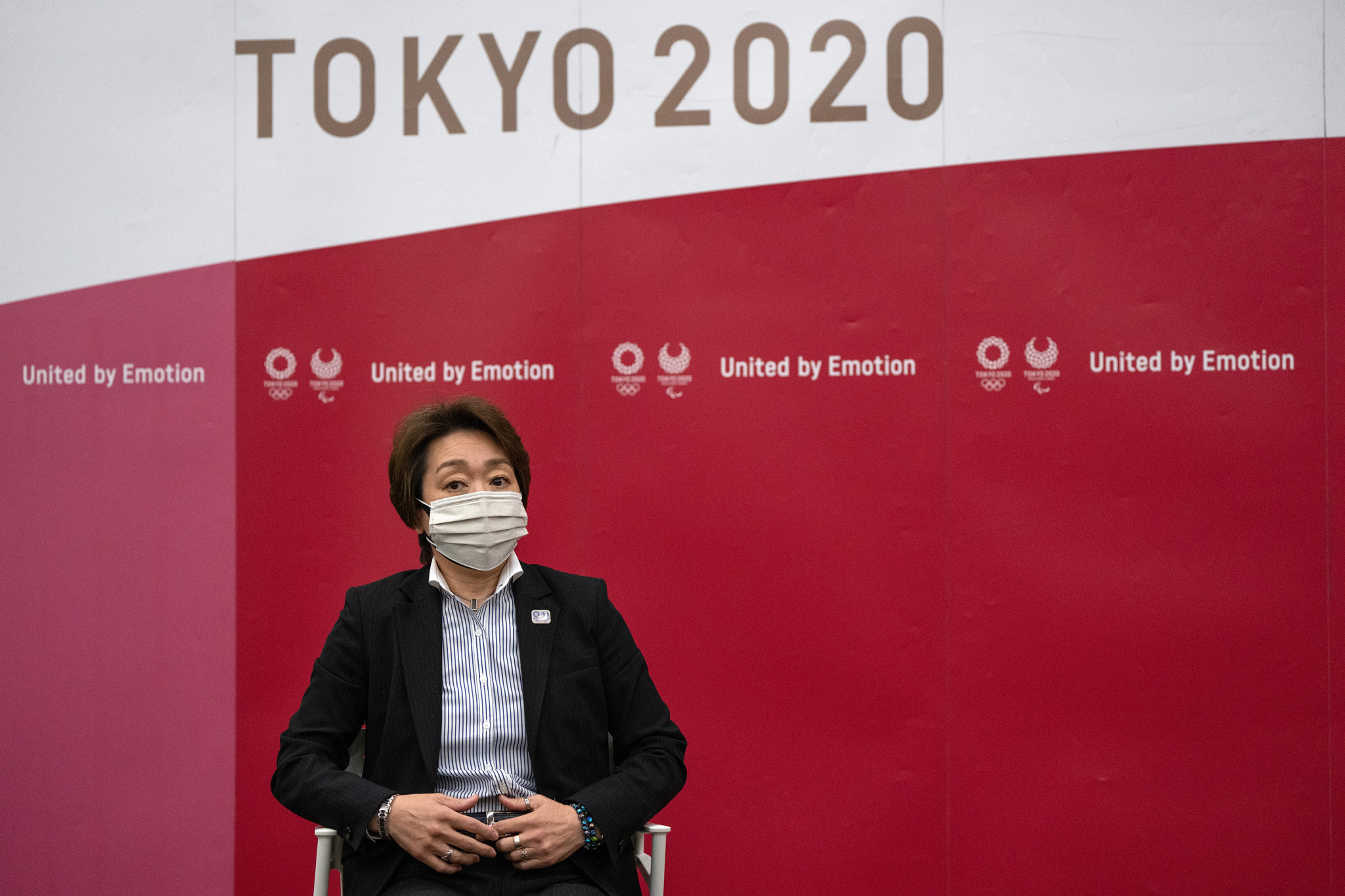 Tokyo 2020 President Seiko Hasimoto said the visit would be difficult amid a state of emergency ©Getty Images