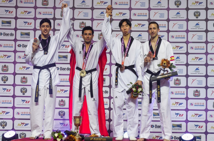 All out attack the way to go as terrific Turk lights up World Taekwondo Championships