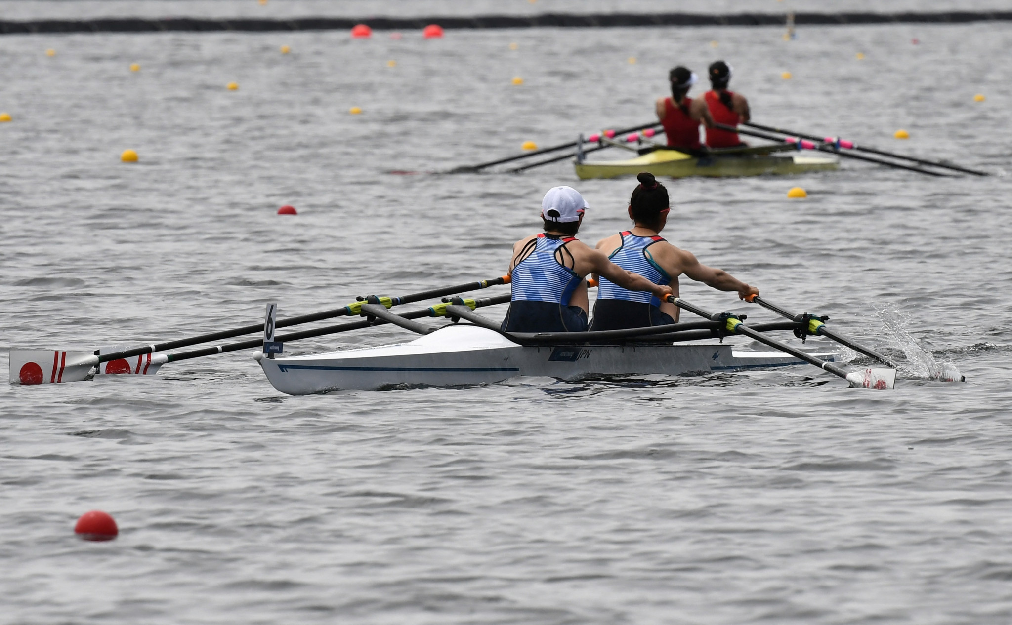 Japan dominates Asia and Oceania Olympic and Paralympic qualifier on Tokyo 2020 rowing course
