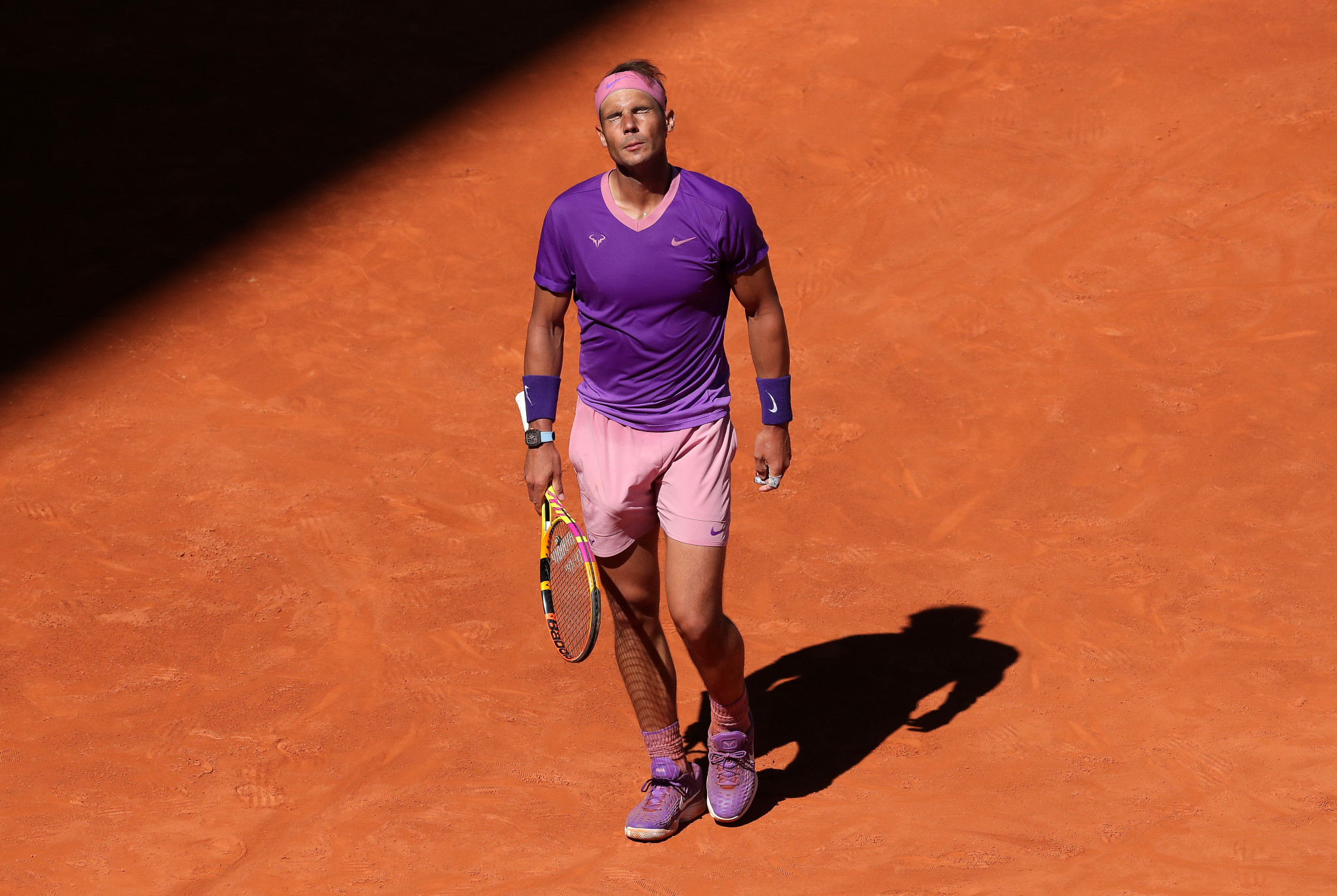 Men's top seed Nadal suffers surprise quarter-final exit at Madrid Open