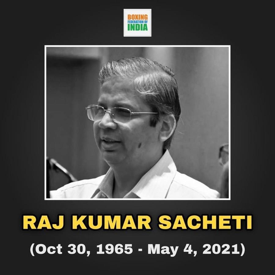 Raj Kumar Sacheti has died at 55 ©BFI
