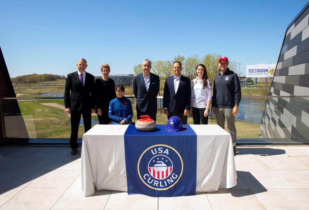 USA Curling has is moving to the Viking Lakes campus ©Minnesota Vikings