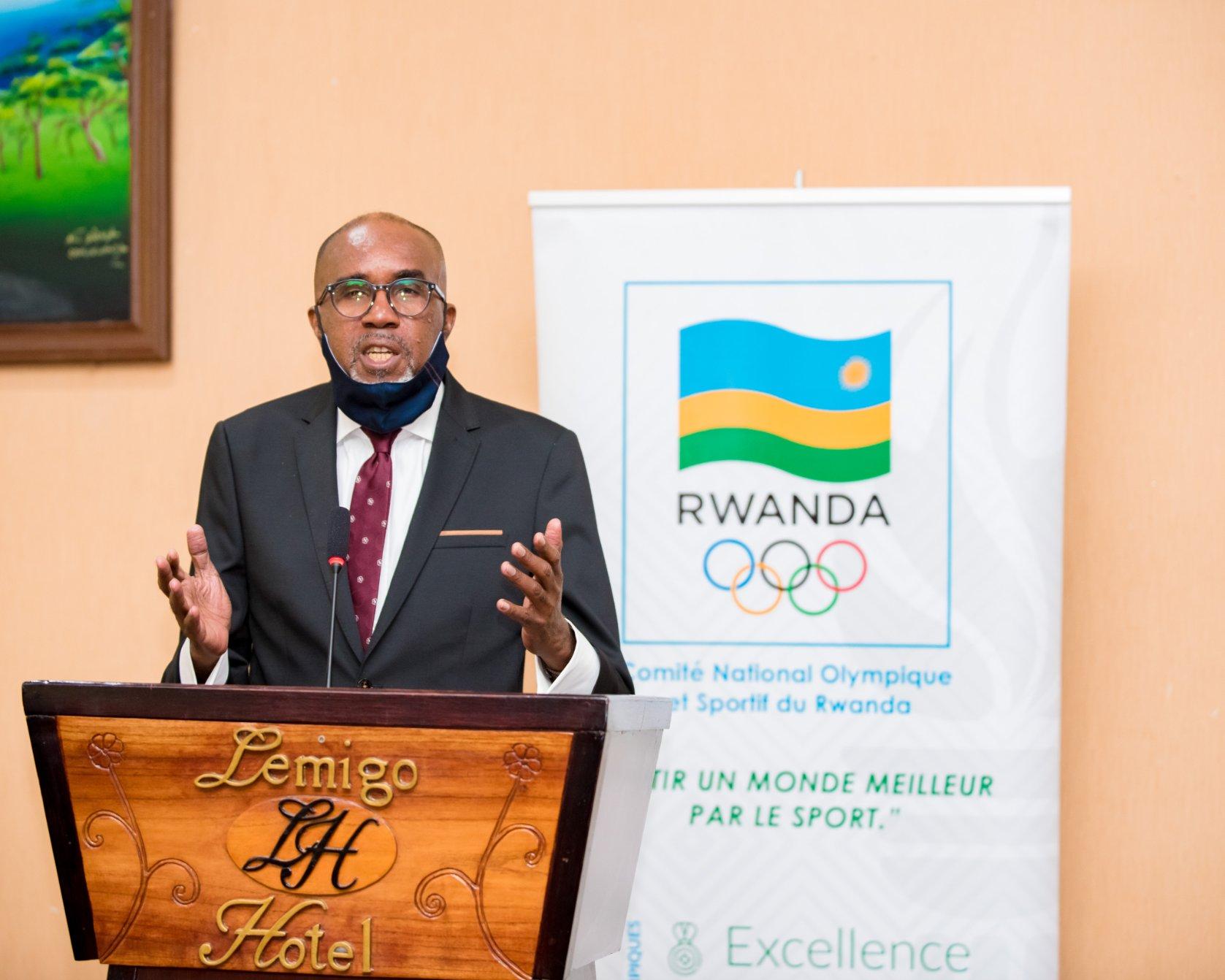 Uwayo elected Rwanda National Olympic and Sports Committee President