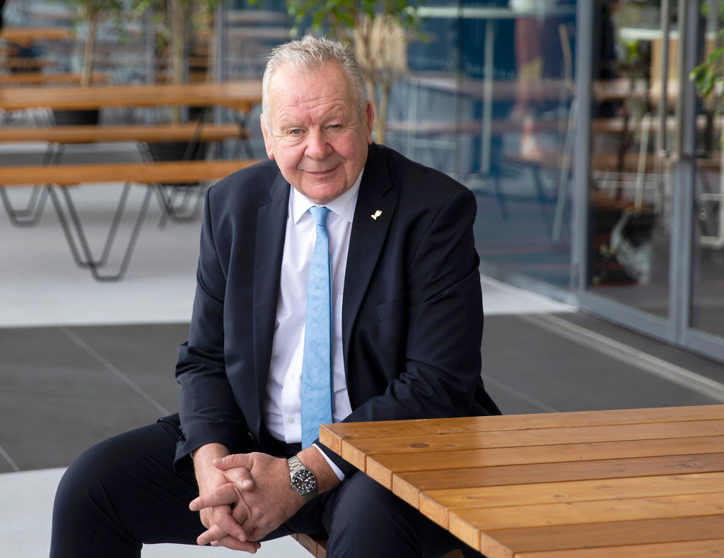 World Rugby President Sir Bill Beaumont, whose own career was ended on medical advice due to repeated concussions, insists player safety is a paramount concern for his organisation ©Getty Images