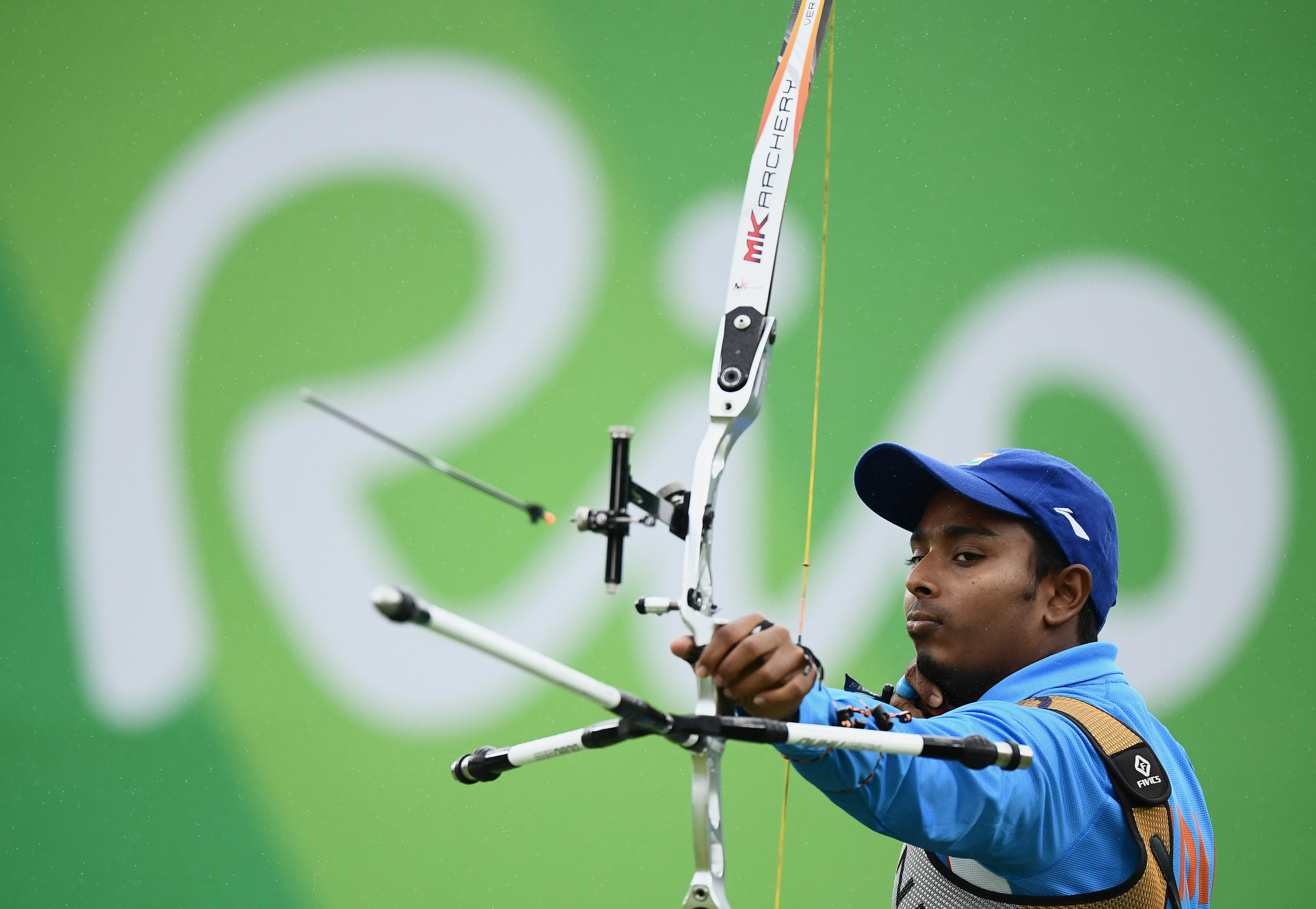 Atanu Das was set to lead the men's recurve team in Lausanne ©Getty Images