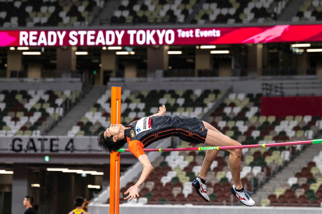 The Tokyo 2020 athletics test event took place at the National Stadium today ©Getty Images