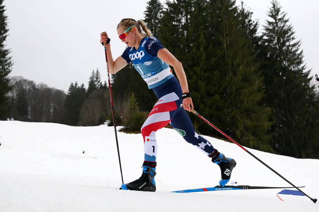 Diggins heads strong US cross-country skiing team for upcoming Olympic season