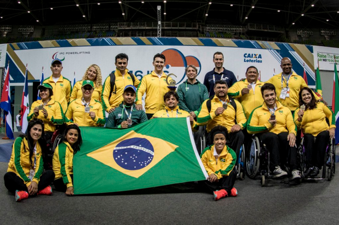 Brazil top final medals table at Rio 2016 powerlifting test event