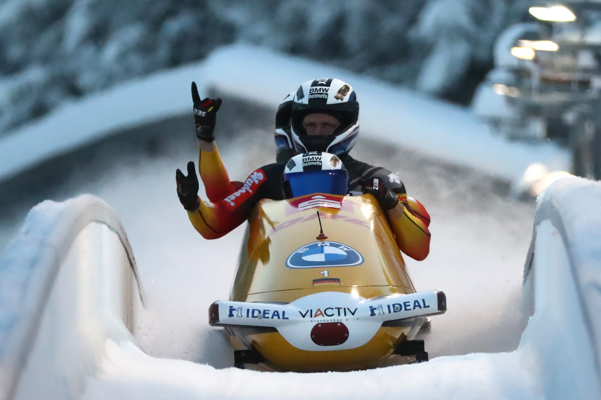 Veteran Rödiger joins Olympic champion Friedrich's bobsleigh team for coming season