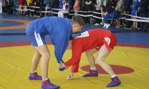 More than 400 under-16s competed at the National Cadet Sambo Championships ©European Sambo Federation