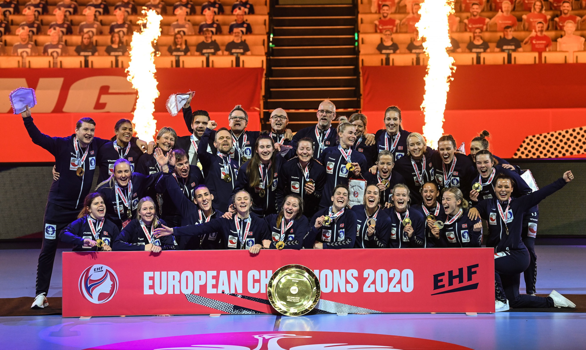 Norway won the Women's European Handball Championships for the eighth time in 2020 ©Getty Images