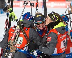 France and Russia secure relay wins on final day of IBU World Cup in Antholz