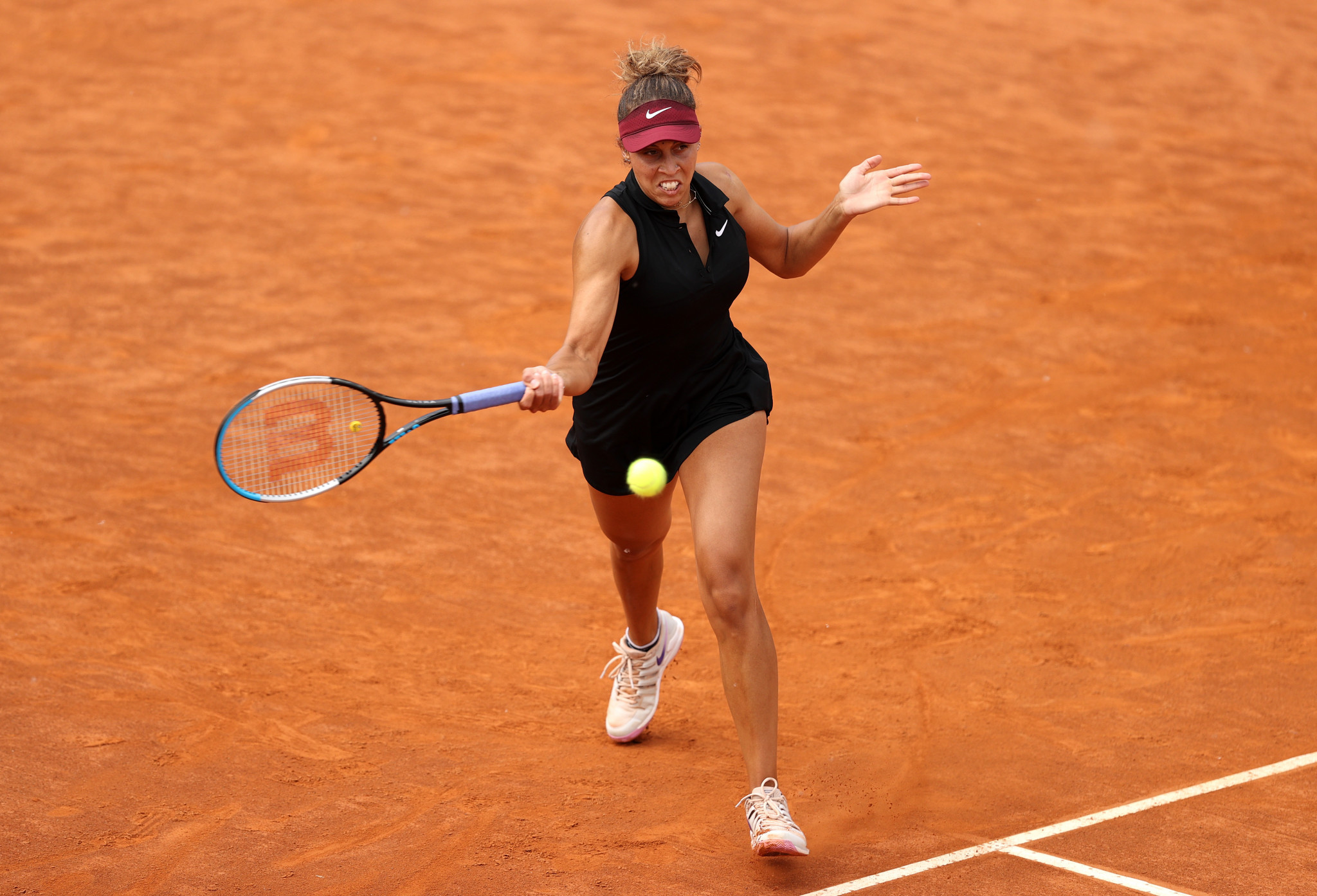Keys edges Stephens as in-form Berrettini passes tough test at Italian Open