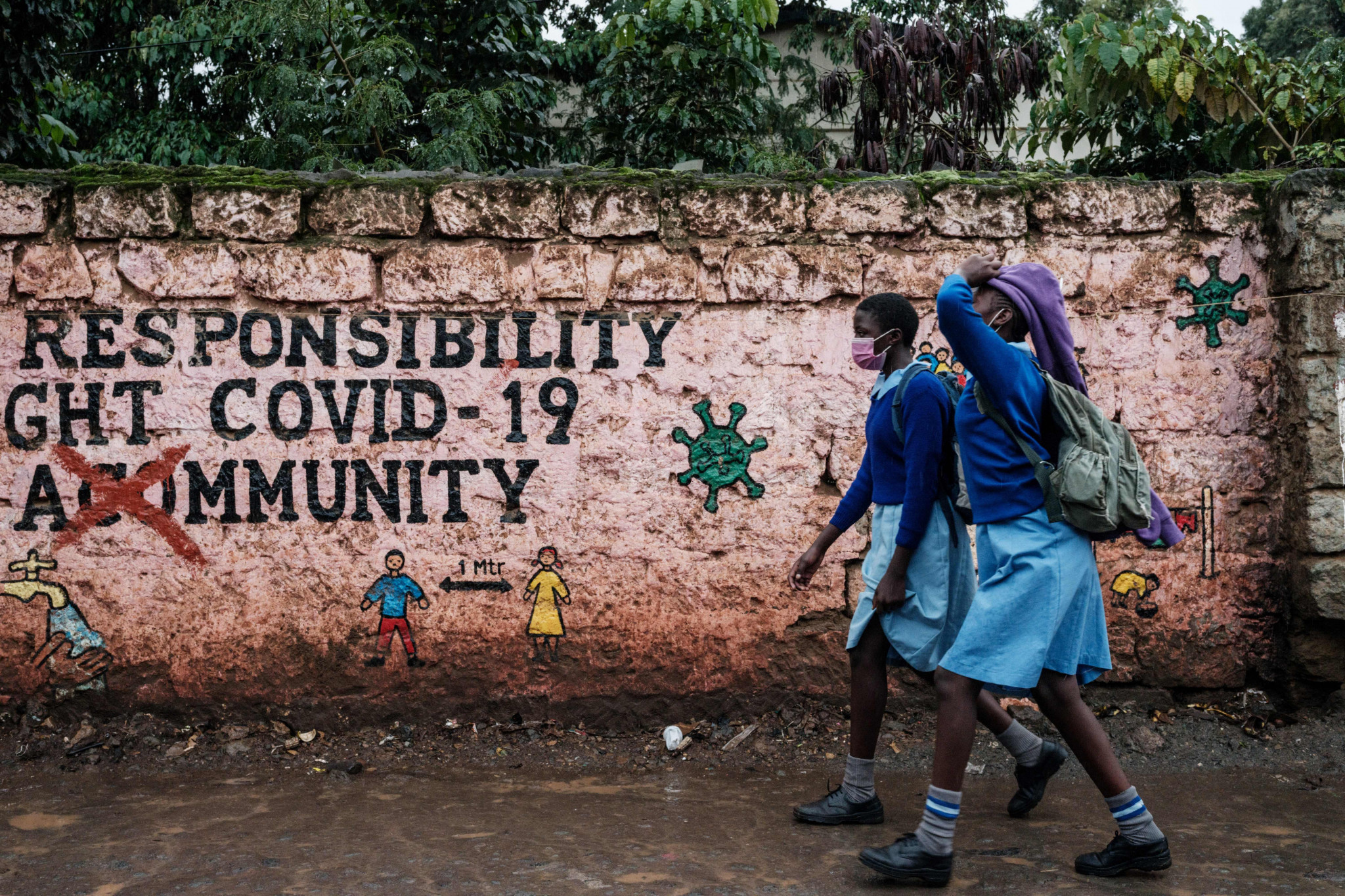 Kenya has had fewer than 3,000 coronavirus deaths, but many deny official figures © Getty Images