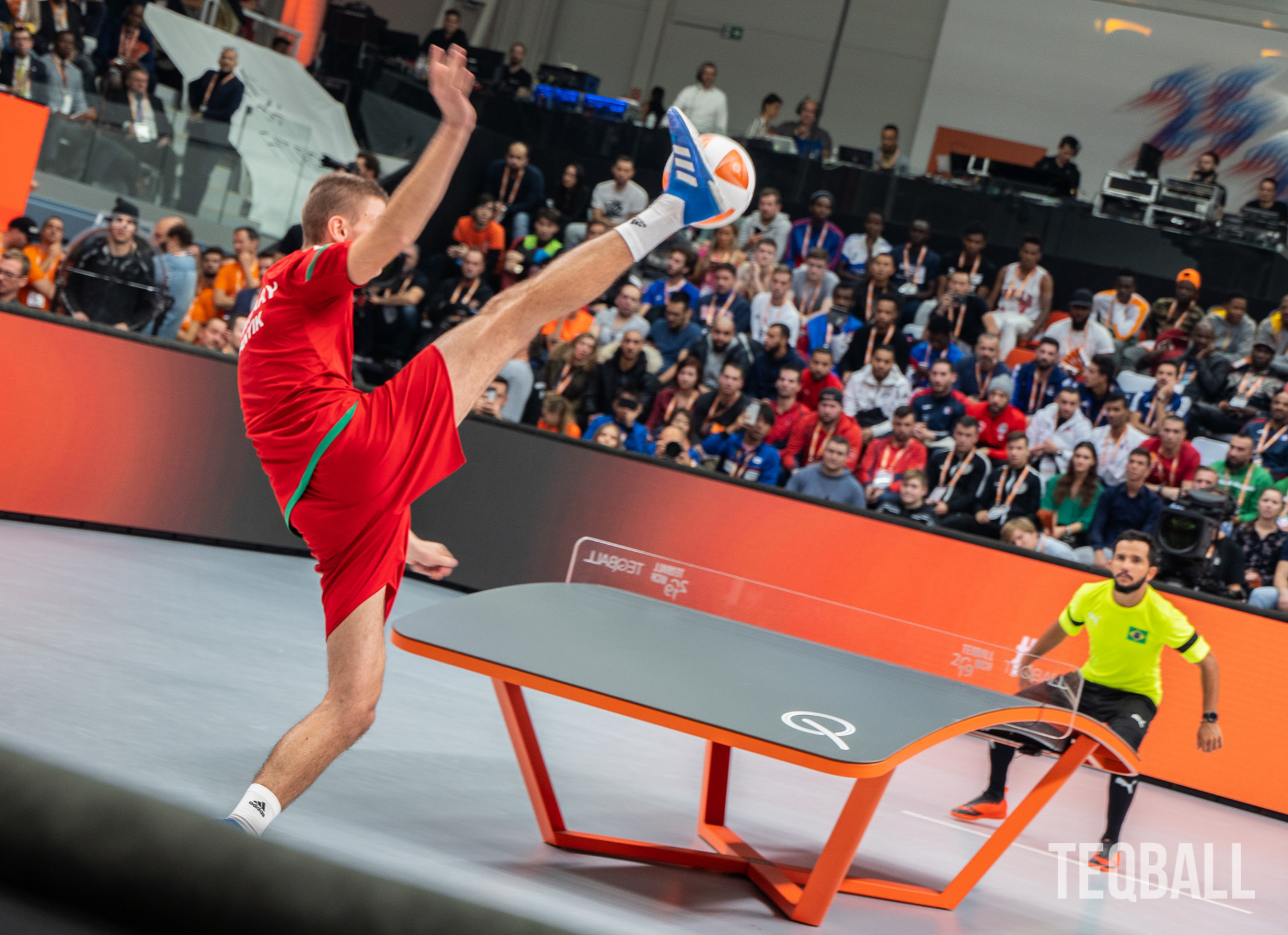Teqball across all five continents has witnessed investment following the creation of the programme in May 2020 ©FITEQ