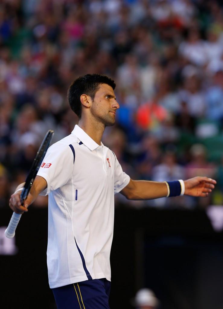 Djokovic secures Australian Open quarter-final berth despite error-strewn display
