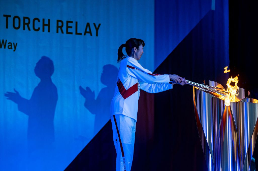 Tokyo 2020 Torch Relay taken off public roads in Hiroshima due to COVID-19