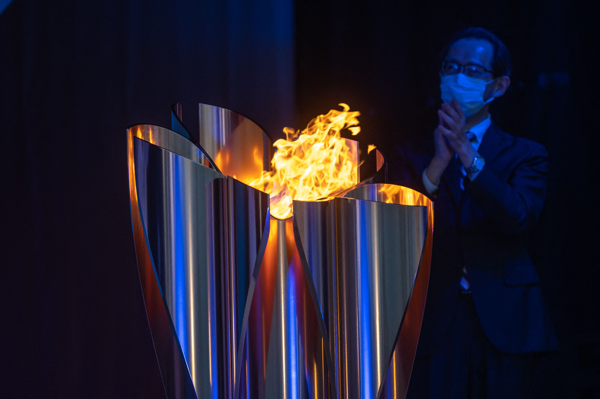 The Olympic Torch will not now visit Hiroshima Prefecture due to a rise in coronavirus cases in the area ©Getty Images