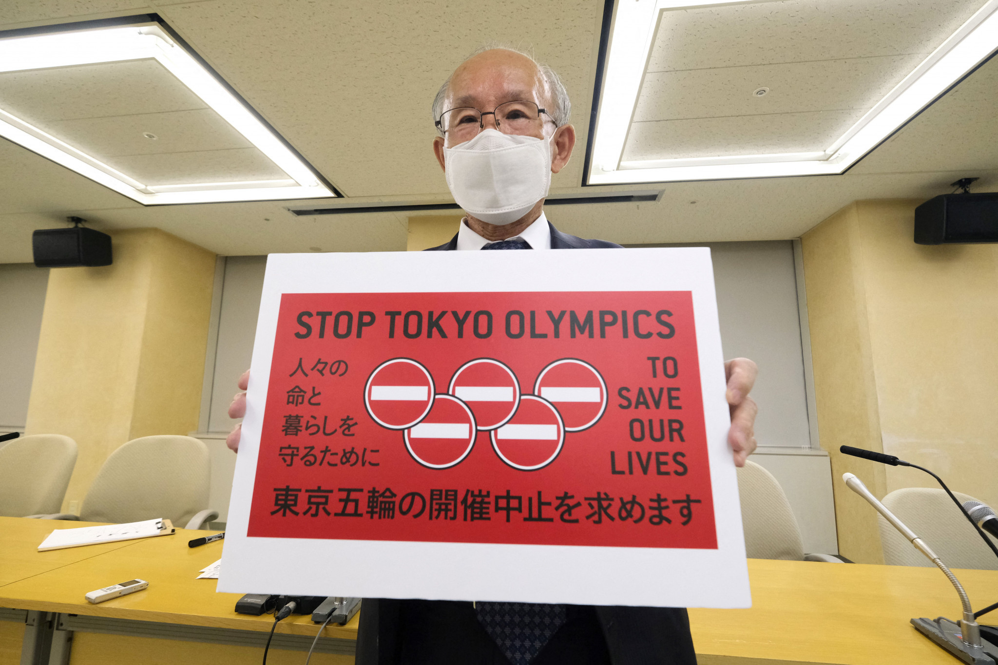 Petition to cancel Tokyo 2020 Olympics submitted with 350,000 signatures