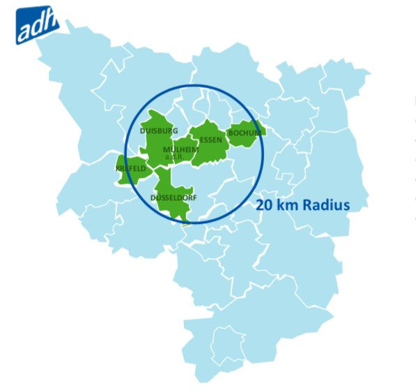 The German bid concept covers several cities  ©ADH