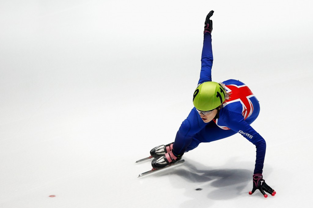 Christie crowned overall European Short Track Speed Skating champion to complete Sochi 2014 redemption