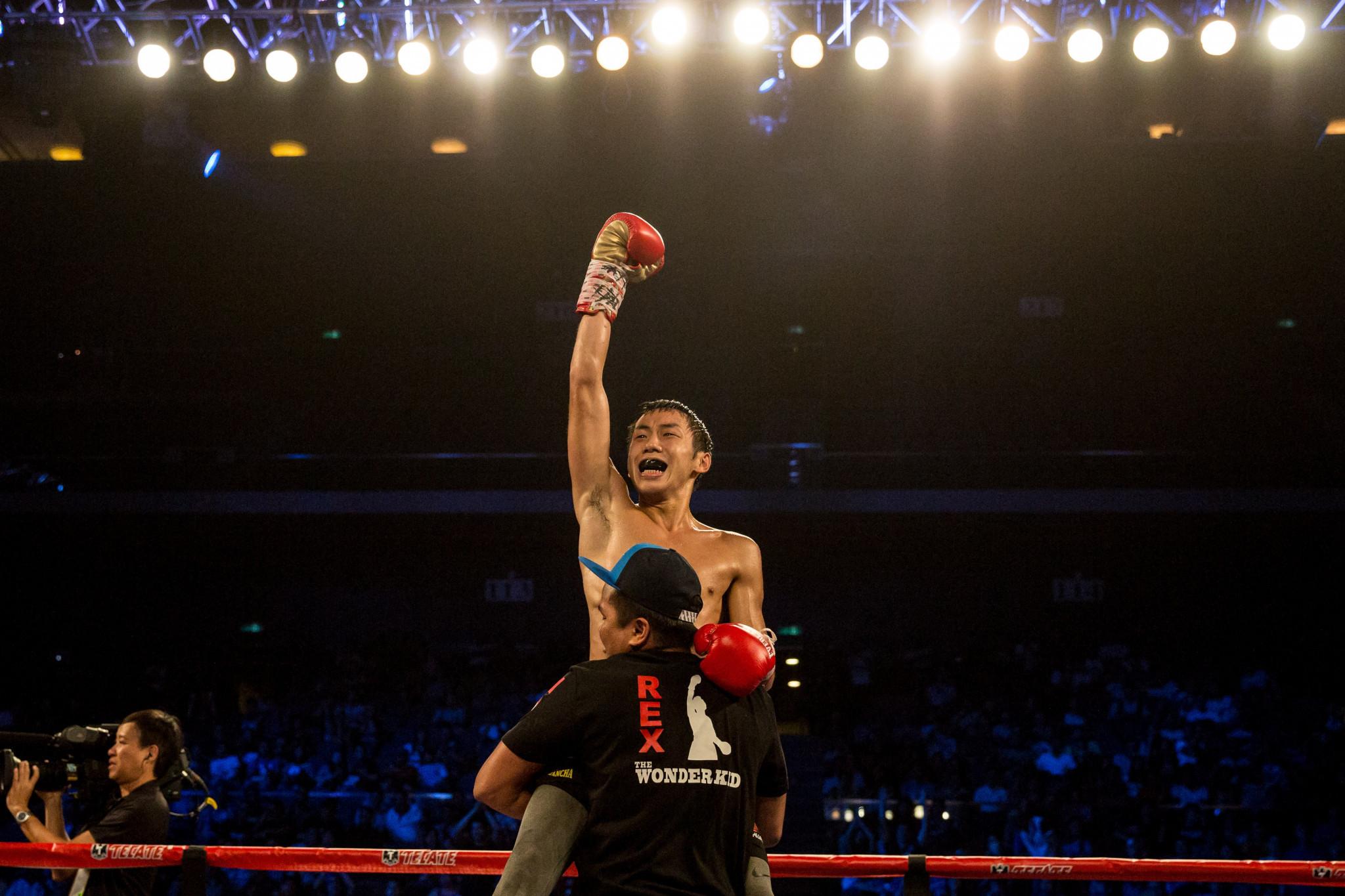 Rex Tso enjoyed an unbeaten 22-fight professional career ©Getty Images