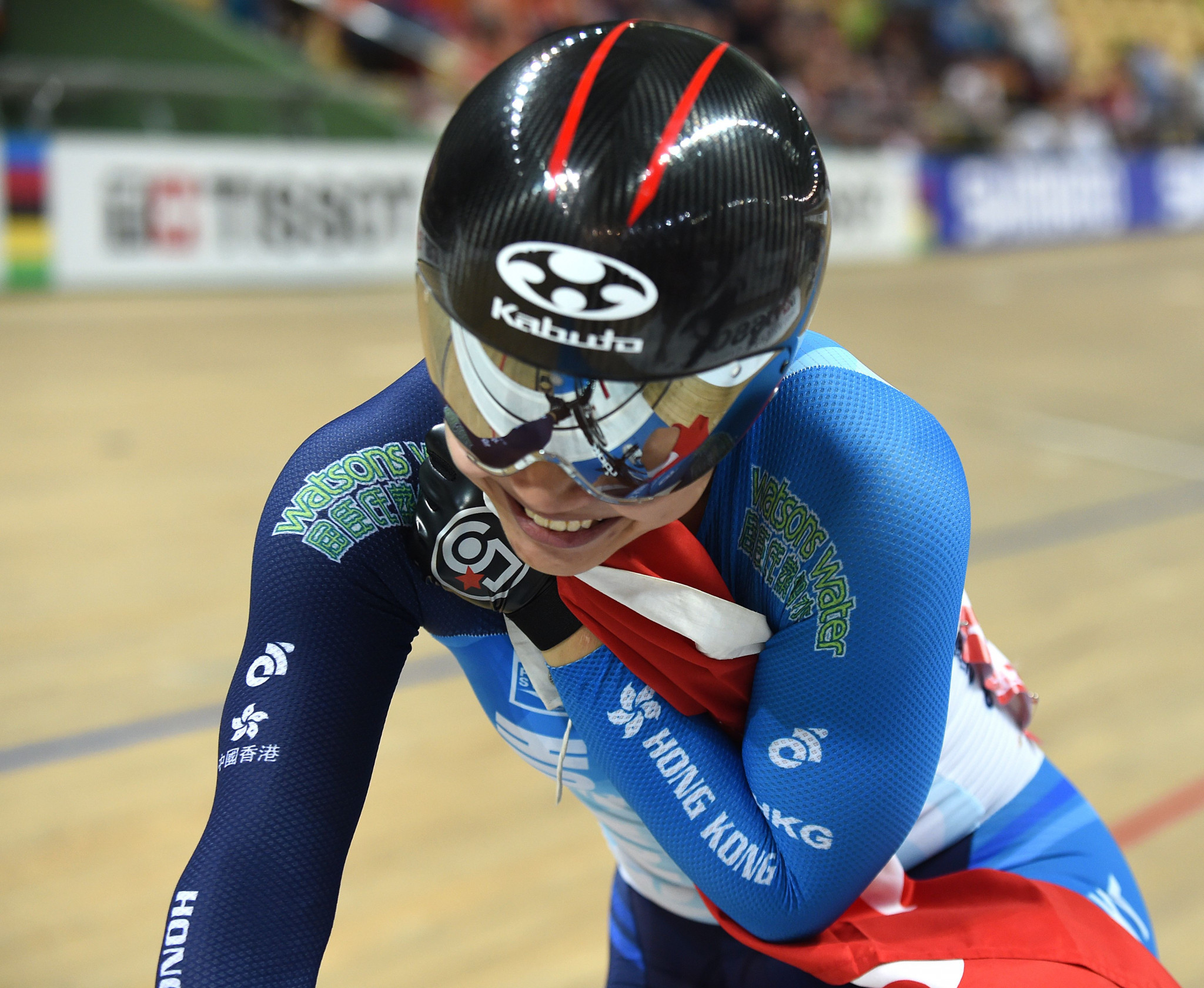 Lee wins women's sprint event at UCI Track Cycling Nations Cup in Hong Kong