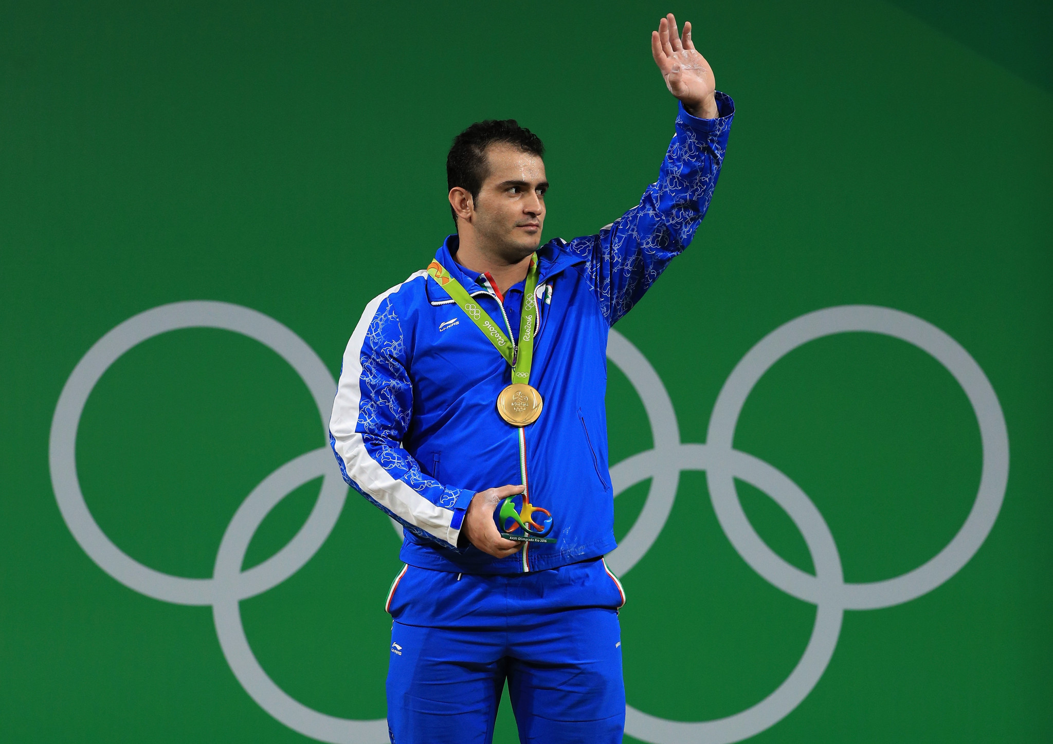 Rio 2016 champion Sohrab Moradi of Iran bid a sad farewell to the sport after failing to make a total in a Tokyo 2020 qualifying competition in Colombia ©Getty Images