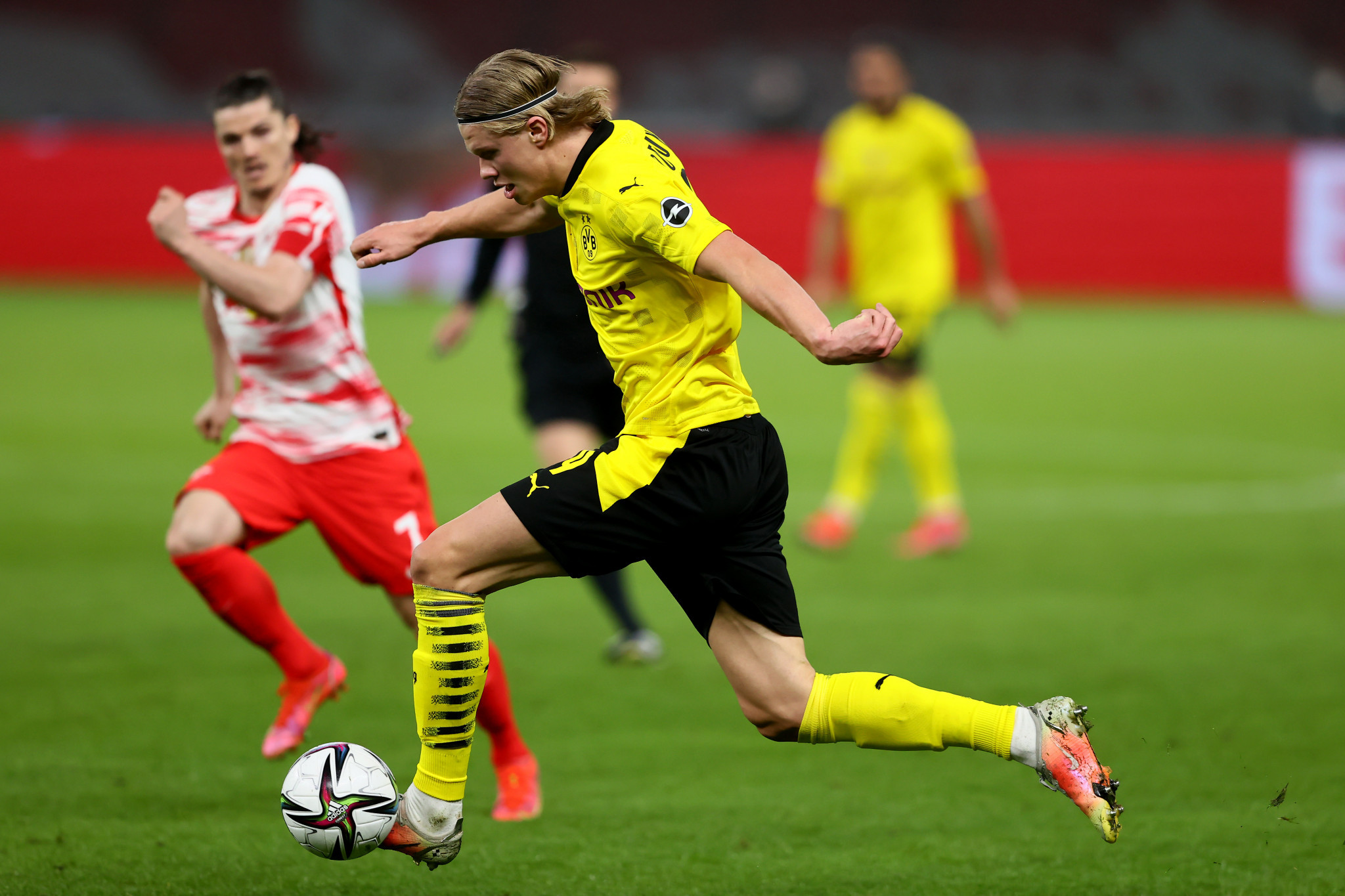 Borussia Dortmund besiegte RB Leipzig beim DFB-Pokal mit 4: 1 © Getty Images