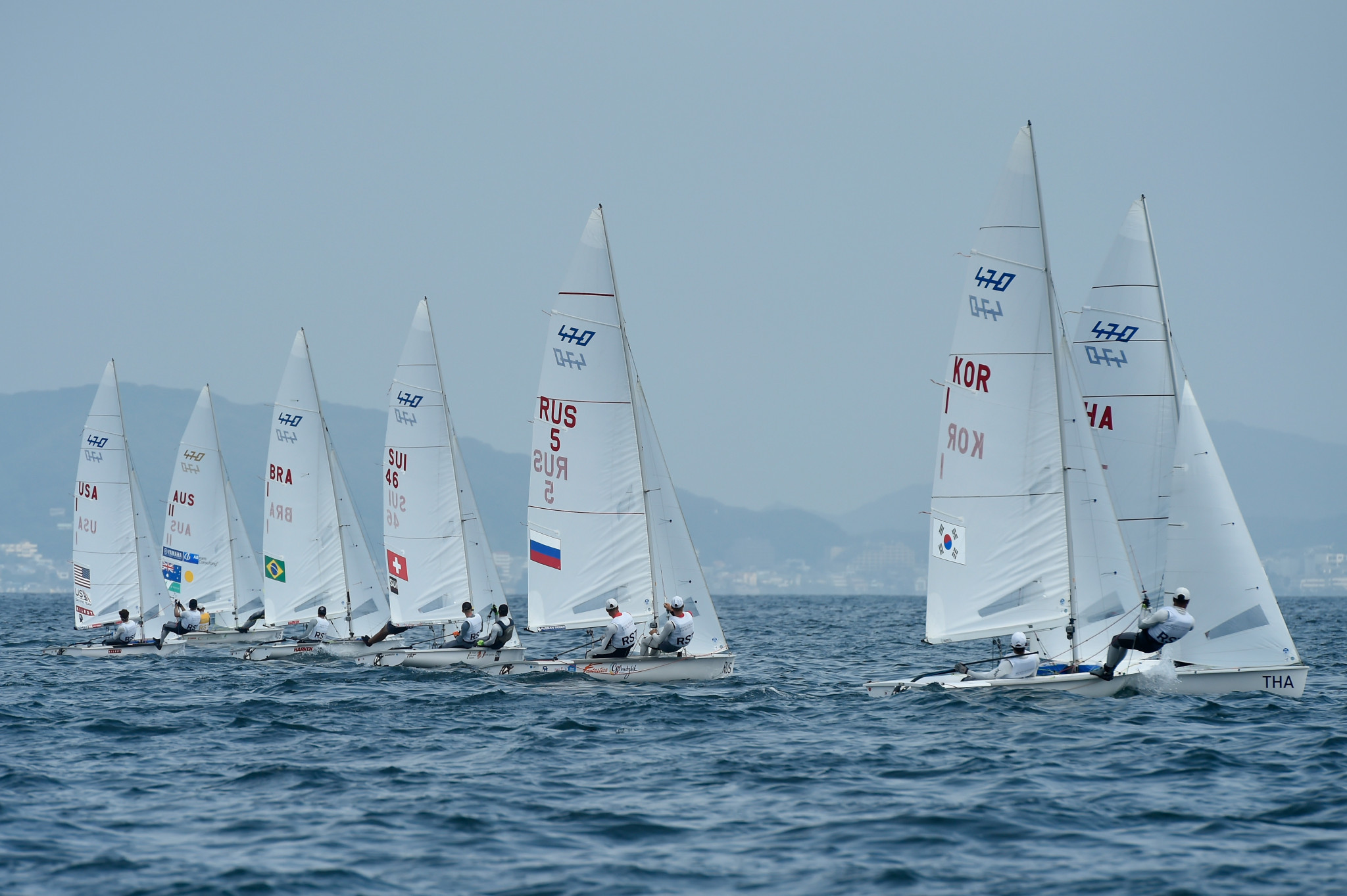 World Sailing chief executive David Graham says the organisation would have gone under were it not for an IOC loan ©Getty Images