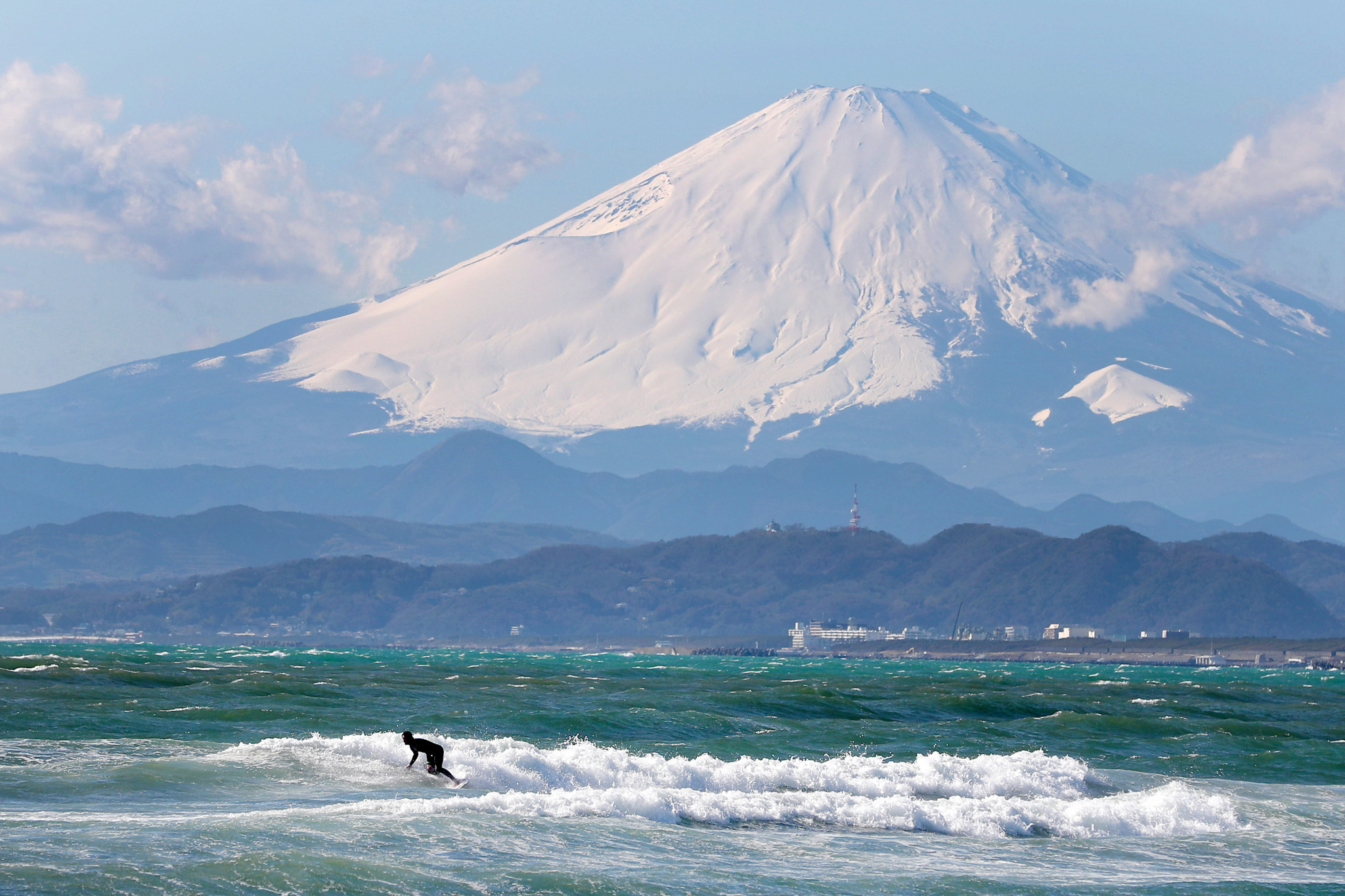 The final 12 Olympic berths for Tokyo 2020 will be determined at the World Surfing Games ©Getty Images