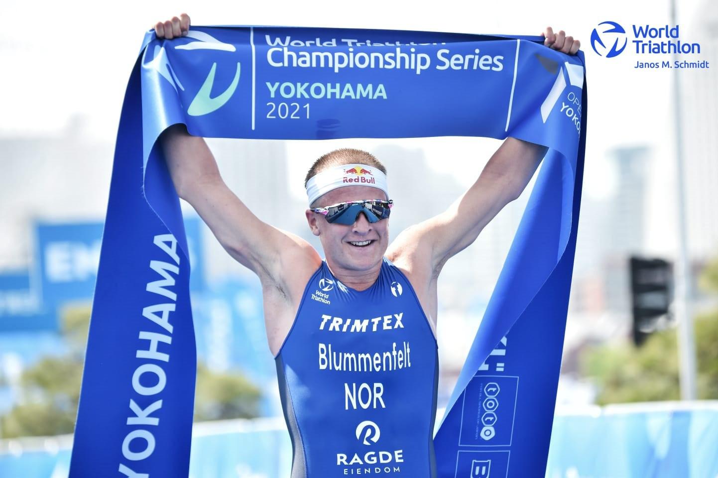 Blummenfelt and Knibb win World Triathlon Championship Series races in Yokohama