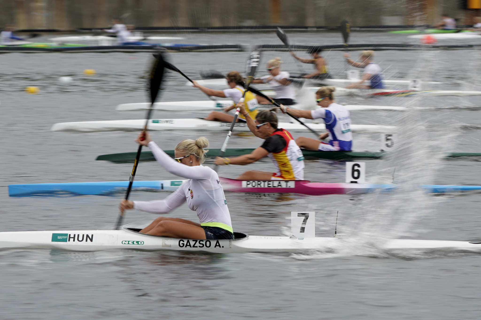Kiss gives hosts Hungary gold at Szeged Paracanoe World Cup