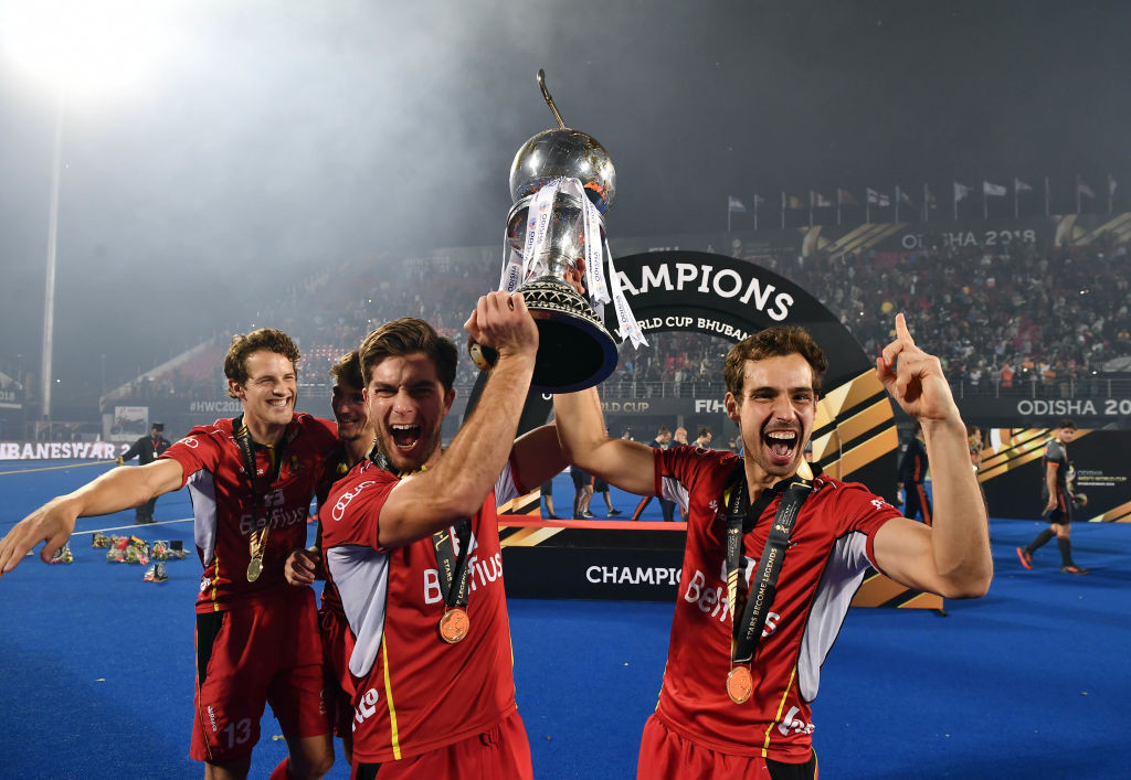 Belgium won the men's Hockey World Cup for the first time in 2018 ©Getty Images