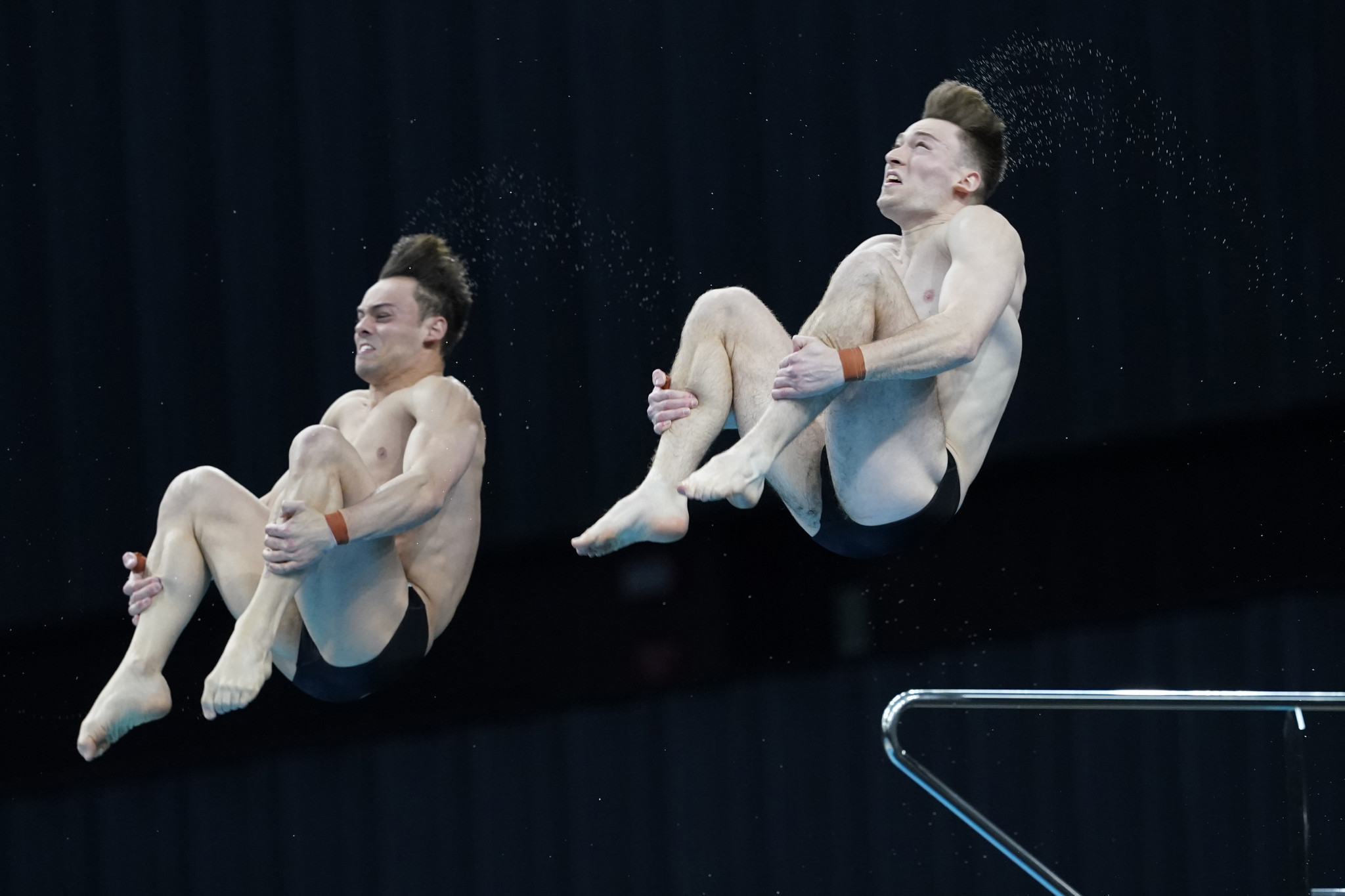 Britain and Germany take golds on penultimate day of diving at European Aquatics Championships