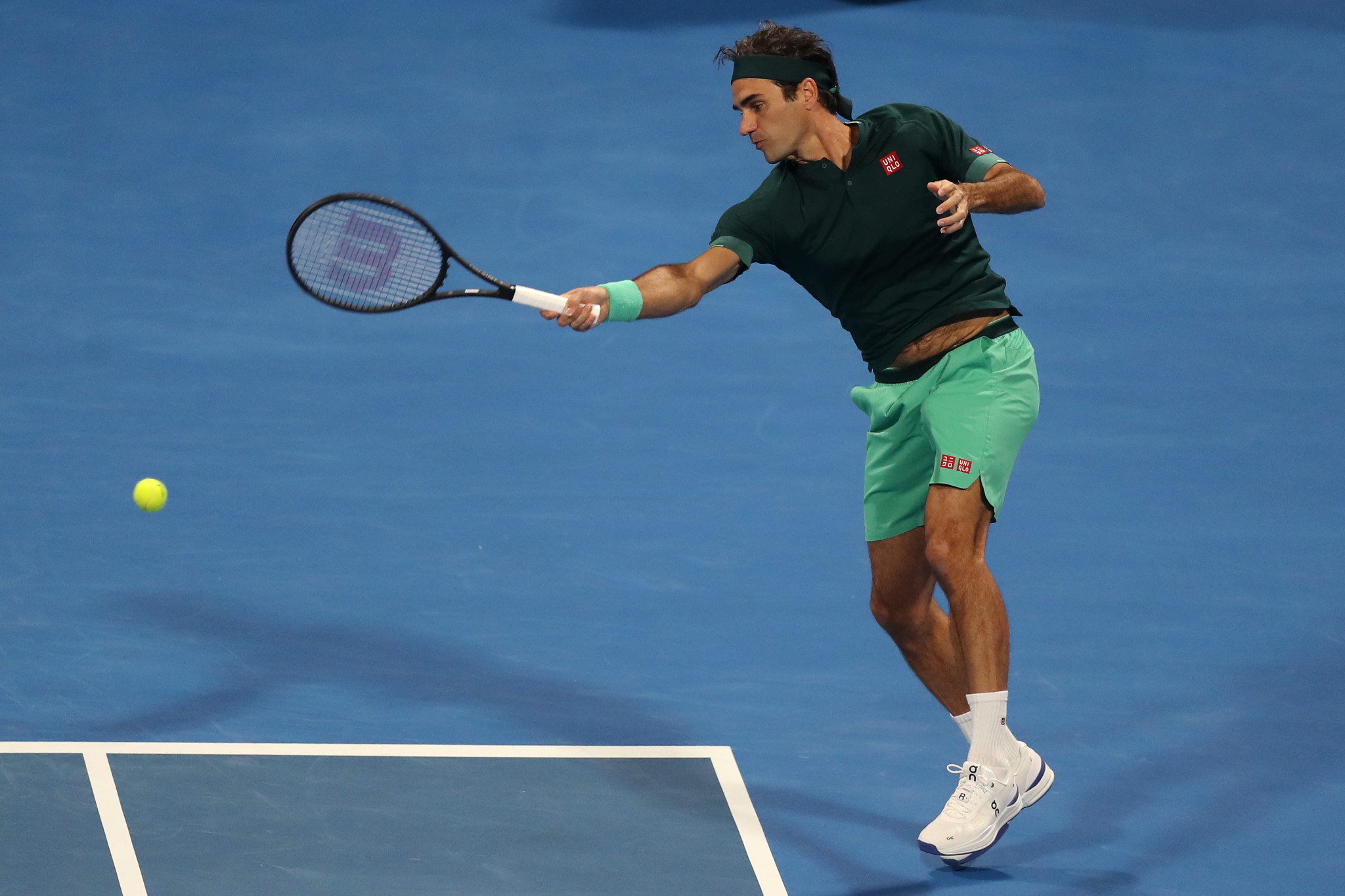 Roger Federer is hoping to claim his first Olympic singles gold medal ©Getty Images