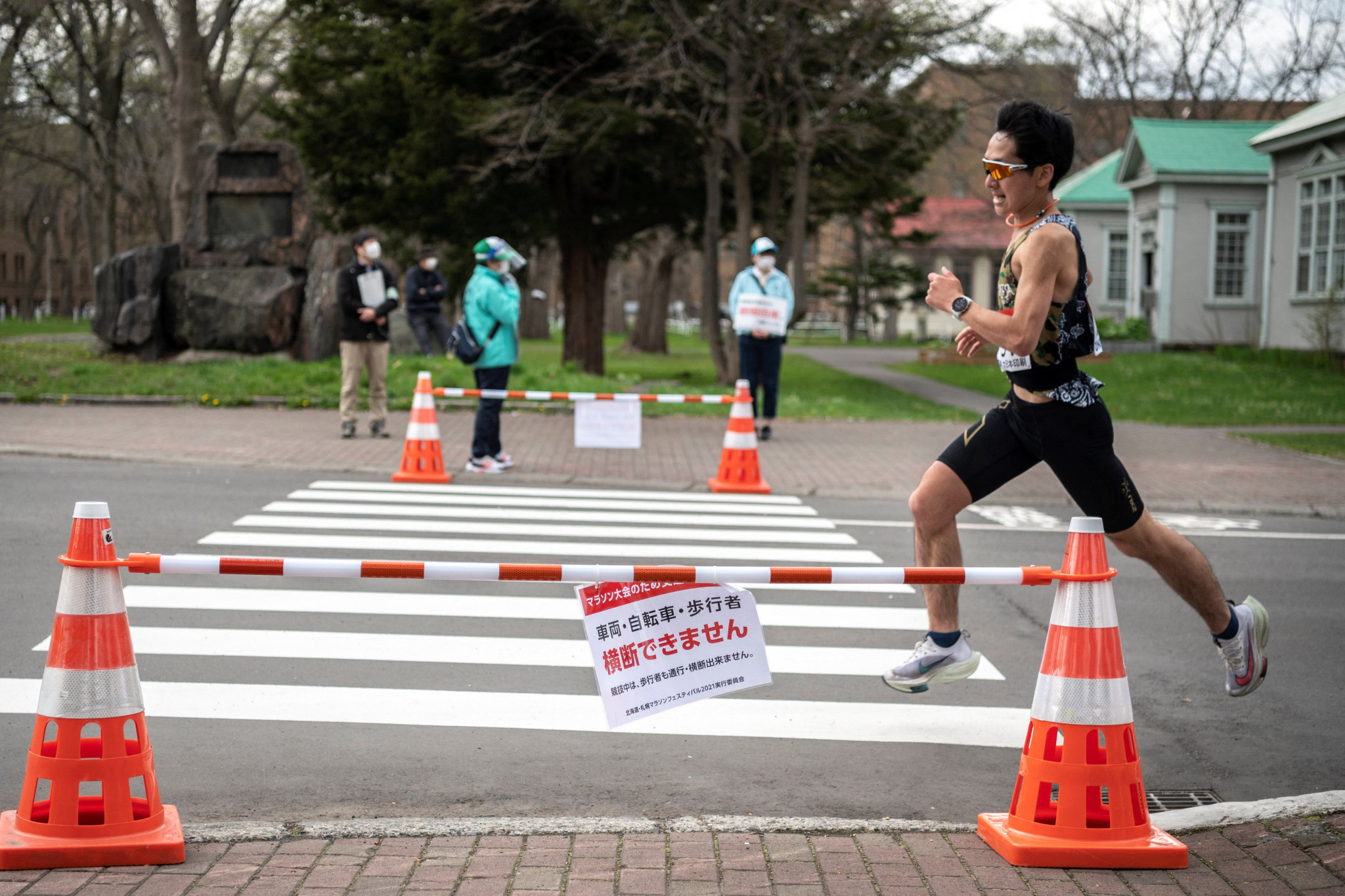 Sapporo hosted an Olympic marathon test event earlier this month ©Getty Images