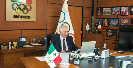 Carlos Padilla Becerra, President of the Mexican Olympic Committee, has announced Value Casa de Bolsa as the latest Tokyo 2020 team sponsor ©COM