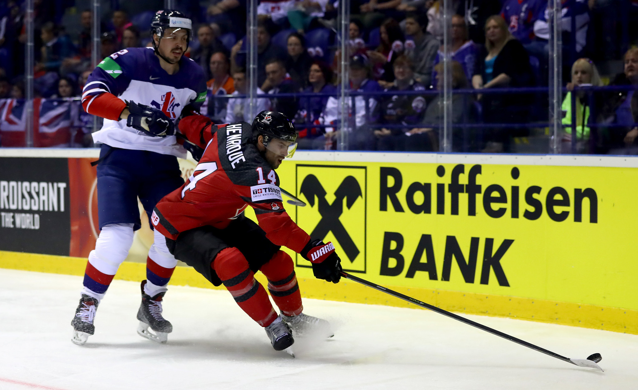 Adam Henrique is among four players in Canada's squad that have previously represented their country at the World Championship ©Getty Images
