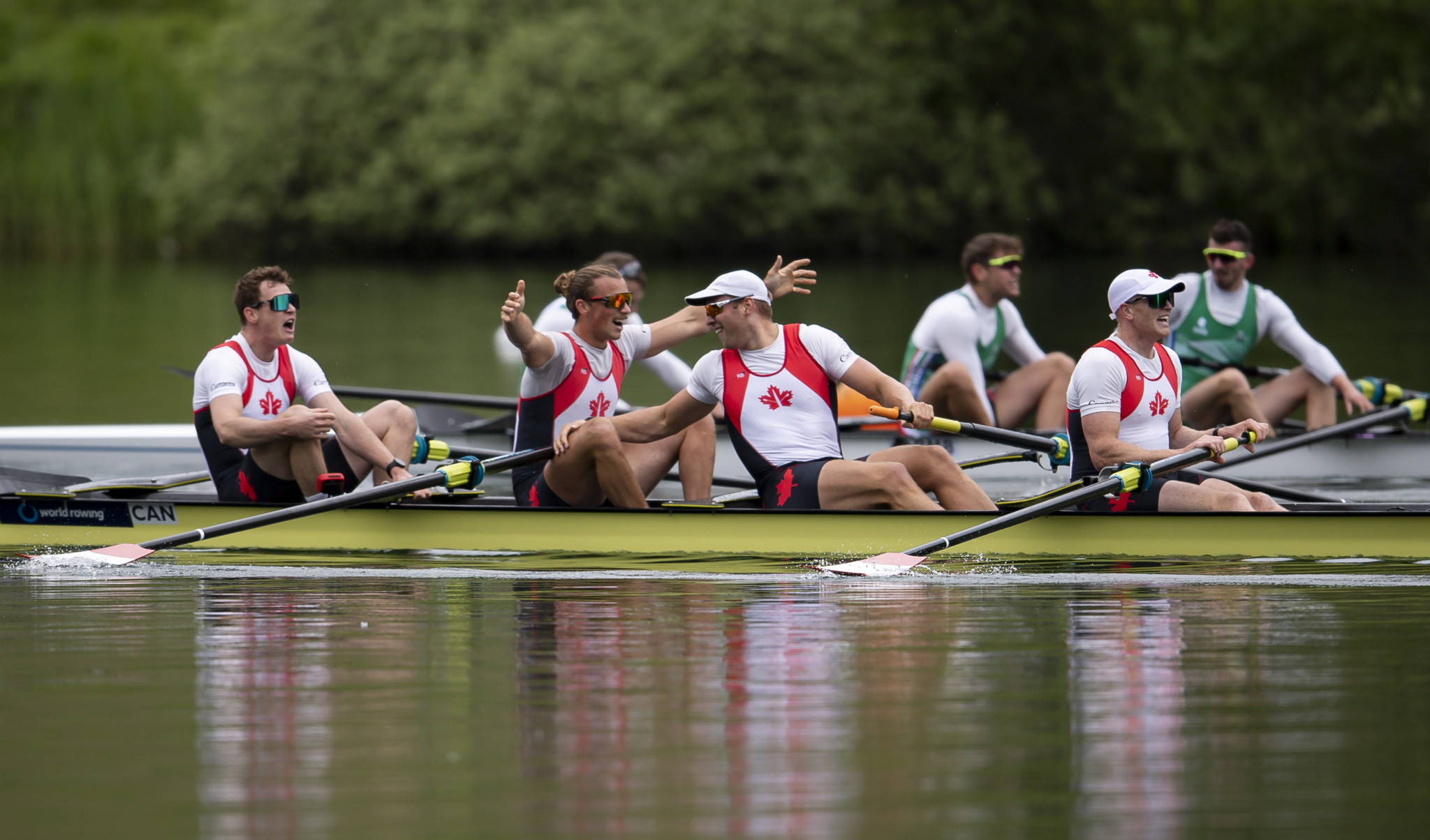 Final Tokyo 2020 places sealed at Olympic rowing qualifier in Lucerne