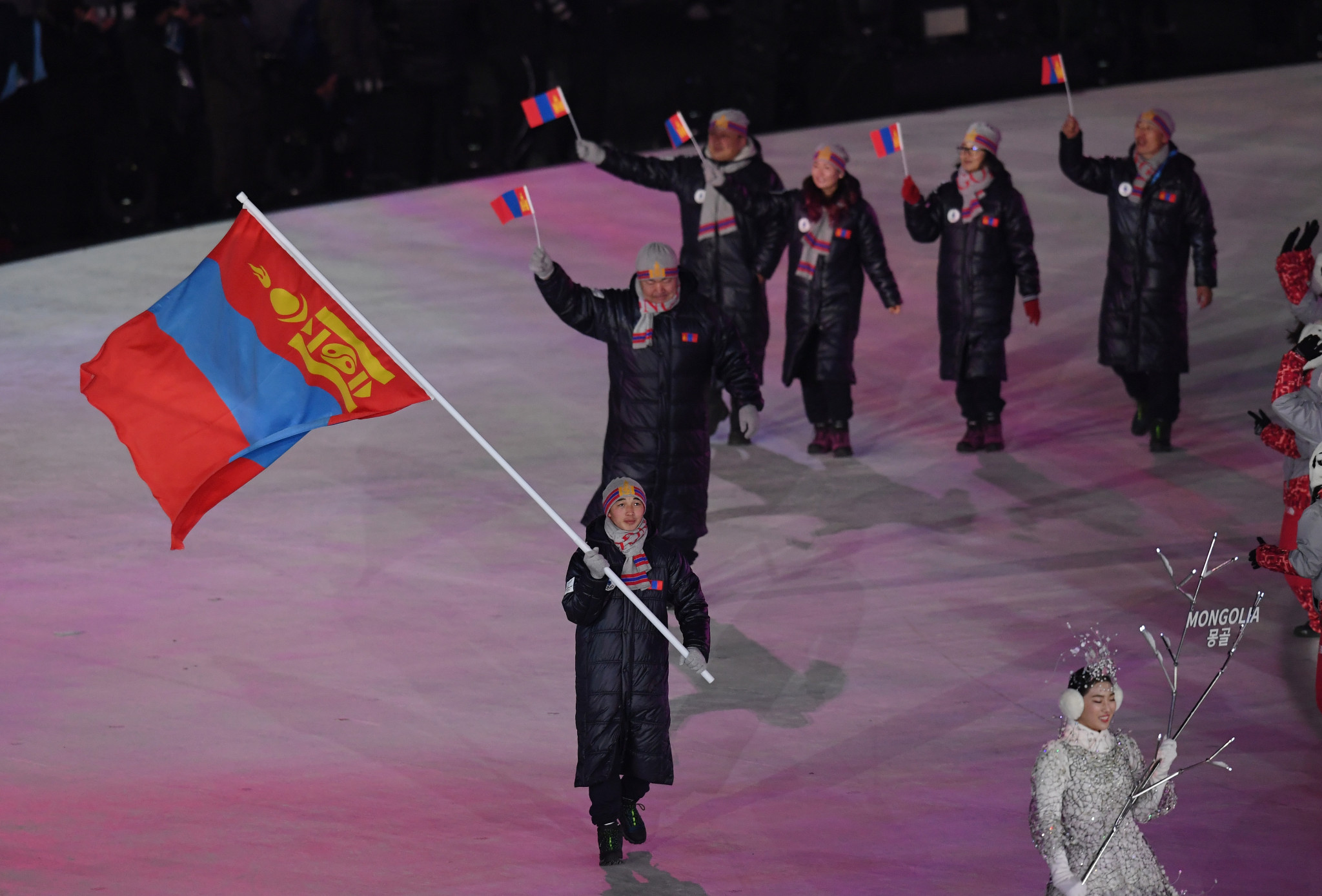 Mongolian NOC Olympic Scholarship holders receive last grants before Tokyo 2020